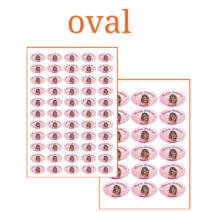 Essbare Bilder für Kleinbebäck oval