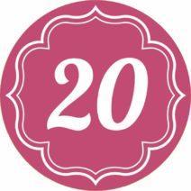 Zusatz Design Geburtstag