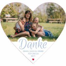 Produktbild Tortenbilder Muttertag Herz 01