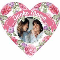 Produktbild Tortenbilder Muttertag Herz 05