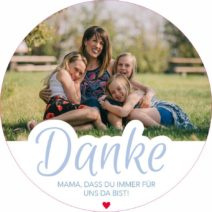 Muttertag Designs rund