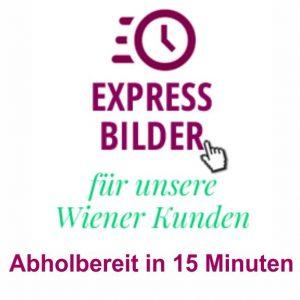 Expressbilder für Wiener Kunden bei Tortenbilder.at